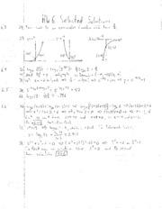 HW6 Solution