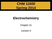 Electrochemistry - Lecture 28_post