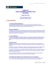 AMBA 610-9040- Team Agreement and Work Plans[1]