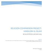 Religion Comparison Project by Evan and Jamie.docx