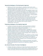 Intelligence and Psychological testing notes.pdf