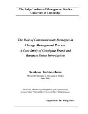 the role of communicaton strategies in change management process.pdf