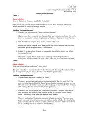 allegory of the cave essay questions