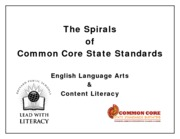 Common Core ELA Spirals Booklet