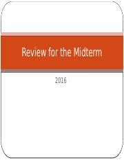Review for the Midterm_Answers Fall 2016.pptx