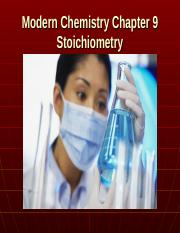 Modern Chemistry Chapter 9 Stoichiometry4.ppt