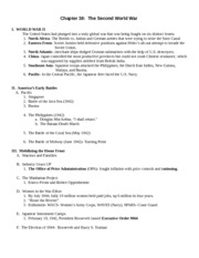 Chapter 30- OUTLINE Germanna 2008