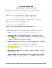 Mastering Inventory Lecture Outline.doc