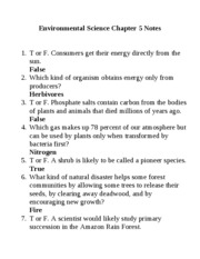 Environmental-Science-Chapter-5-Notes-answers