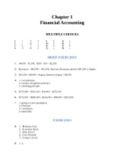 Ch. 1 Homework Solutions Acct