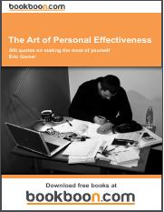 The Art of Personal Effectiveness.pdf