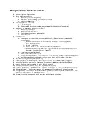 Tempate Deal Memo Assignment (Management).docx