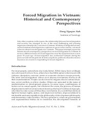 Forced Migration in Vietnam_Historical and Contemporary Perspectives.pdf