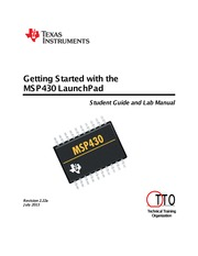 Getting Started with the MSP430G2553 Value-Line LaunchPad Workshop_v2.22