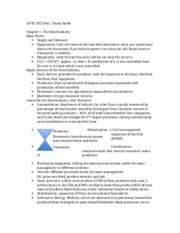 AP EC 202 Test 1 Study Guide