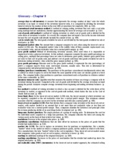 ACNT 2303 9-Glossary