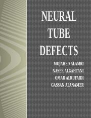 Neural Tube Defects.pptx