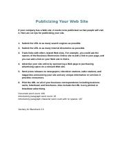 Web Site Tips ZB