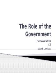4. The Role of the Government 1.pptx