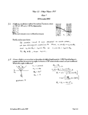 PHYS 122 quiz 7 solutions