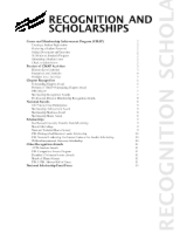 2012-13 PBL Recognition and Scholarships