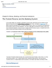 5. The Federal Reserve and the Banking System