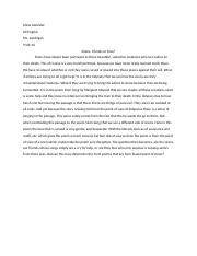 1.03 First Paragraph Free Response