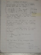 Volume of Prisms Notes