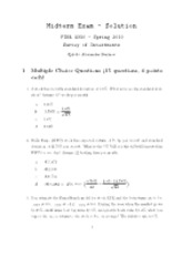 Sample Midterm 4 - Answers