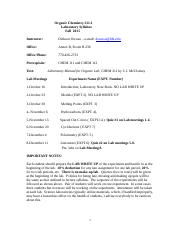 CHM 211-1- Fall 2015-Lab Syllabus.docm