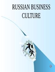 LECTURE2_RUSSIAN-BUSINESS-CULTURE