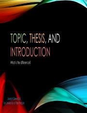 ENGL0101.U4.Thesis Topic Introduction.JS