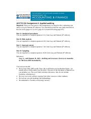 Assignment 2 Applied auditing SC.pdf