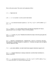 Lecture 7 Answer Explanations