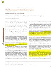 The Discovery of Histone Demethylases.pdf