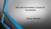 Arts and Humanities Council of Tuscaloosa