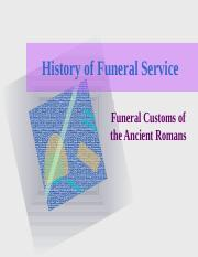 (6) Funeral Customs of the Ancient Romans.ppt