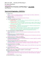 04 Lecture Assignment BIO 141 Tissues(1).doc