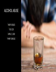 Alcohol Abuse Presentation Topic 6.pptx