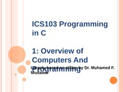 133ICS103_01_OverviewOfComputersAndProgramming