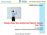 Steady-State Nonisothermal Reactor Design Part 2