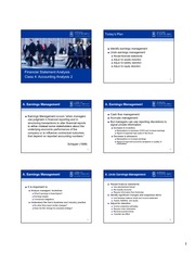 Class 4 Accounting Analysis 6slides