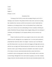 What Is Thesis In Essay Huckleberry Finn Essay  Connor Castillo English  Huckleberry Finn  Growing Up I Have Lived In A Society That Encourages Living For Youre Self  Or Thesis Statement Examples For Persuasive Essays also Frankenstein Essay Thesis Huckleberry Finn Essay  Connor Castillo English  Huckleberry Finn  Thesis Persuasive Essay
