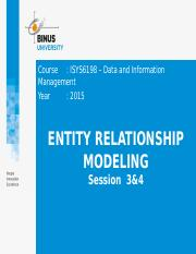 3. Z02410000120154003Session 3&4_Entity Relationship Modeling.pptx