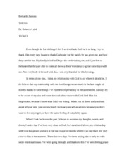 Life of Holiness(Final Paper)