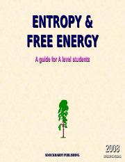 4.2 entropy and free energy.ppt
