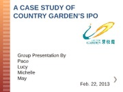 NEW!_Country_Garden_IPO_ 合