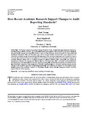 Does Recent Academic Research Support Changes to Audit Reporting Standards.pdf