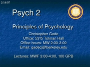 Lecture 11 _Hypnosis and Drugs_