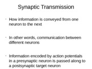Lecture 9 synaptic transmission part1 021814